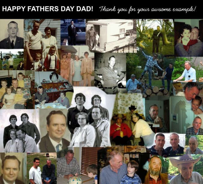 Johnson Family Collage