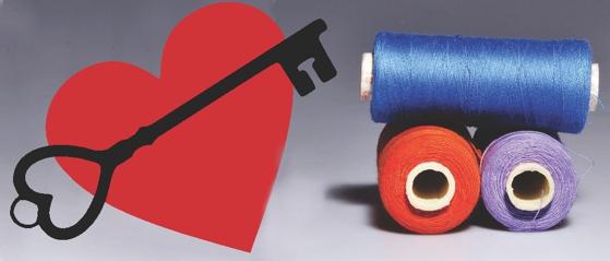 Heart Key and Thread