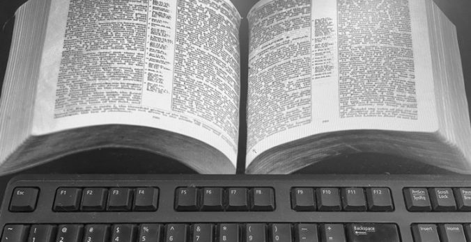 Bible and Keyboard